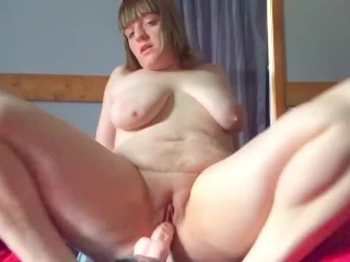 Bored Milf Riding Some Dick/Strap-On