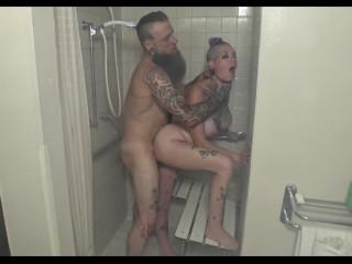 Chassidy Lynn- 4k, Millf, Shower Sex, Bathroom Fuck, Creampie