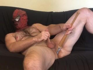 Spider-Man Bat Anal Fuck & Jerkoff 2 Cum