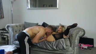 Sexy Hot British Blonde Milf Gets Fucked Everyday for 365 days