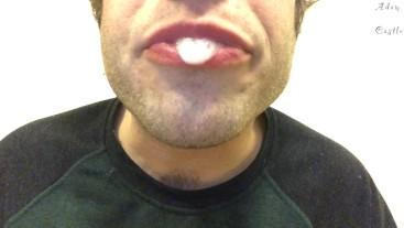 Sucking & Eating Popsicle Mouth Fetish