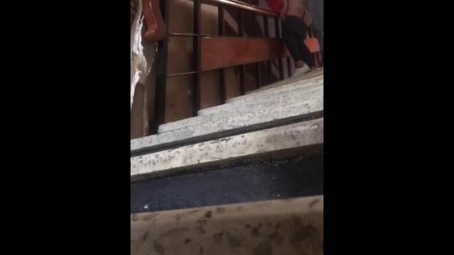 Sly teen hidden cameras Hidden camera, i fucked the teen neighbor in the stairs latina