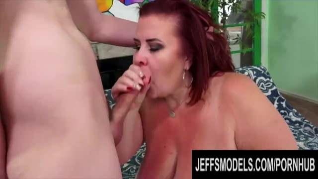 Jeffs Models - BBWs Stuffing Their Mouths with Hard Cocks Compilation 1 20