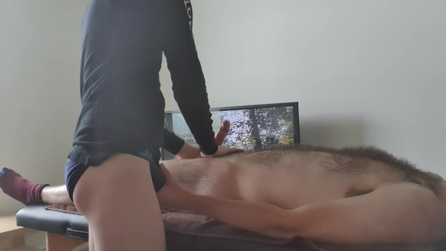 Gay nude men g magazine - British hairy twink receives first erotic massage with happy ending nude