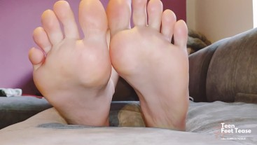 MY LOVELY FEET REST AFTER HARD DAY