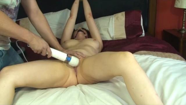 Slut heads Tied slut made to orgasm