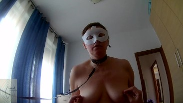 Submissive saggy tits (part II) - cowgirl + blowjob (both came)