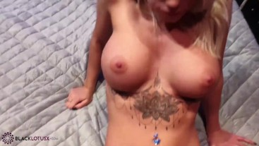 Hot Babe Sloppy Sucking and Tit Fuck Big Dick - Oral Creampie
