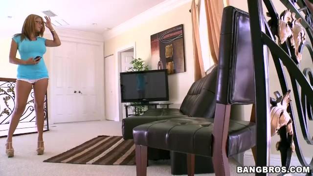BANGBROS - Big Tits Latina Jamie Valentine Taking Dick From Brick Danger 1