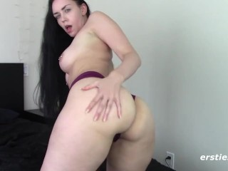 Alanna has natural big breasts and a perfect...