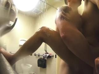 Wmaf petite gets sensual fuck...
