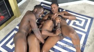 Black gay threeway