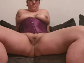 Bottomless spread wide open british...