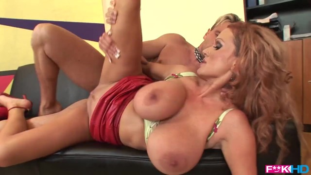 Sharon leach naked Titty play and pussy fucking at the office with curvy secretary sharon pink