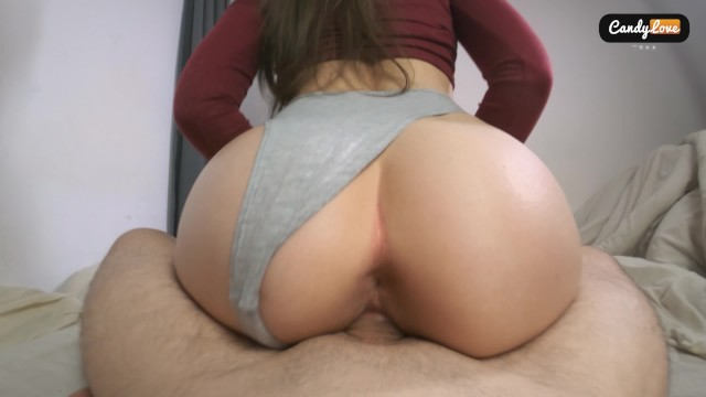 Sex he too tall Unexpected creampie my riding pussy made him cum too early and deep inside