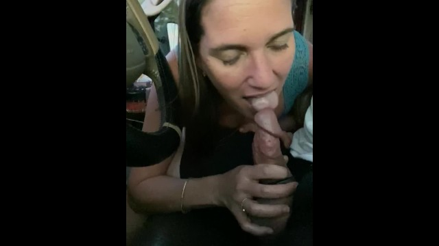 It was a pleasure to work Gorgeous housewife needs to suck her cock on the highway