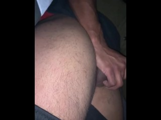 Straight guy first blow job from a guy...