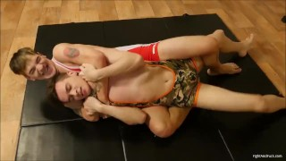 Gay Sucking Cock After Wrestling Fight