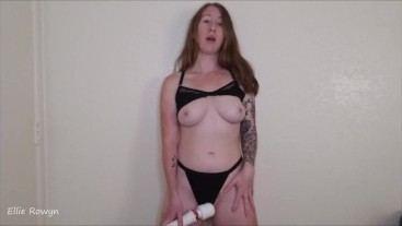 Ellie Rowyn: Standing Orgasm