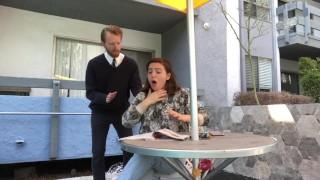 Hardcore Choking Alleviated by Heimlich Maneuver