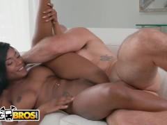 BANGBROS - Sexy Ebony Babe Sarai Minx Fucks Her Mechanic, Jmac