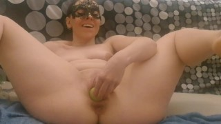 Thesecretlifeofsex plays with zucchini and limes