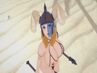 3 bbw barbarian girl...
