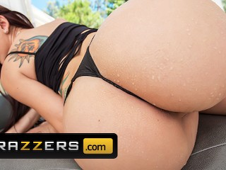 Brazzers has her asshole drilled...