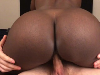 Black Teen Amateur Gets Fucked By White Guy And Gets Creampied