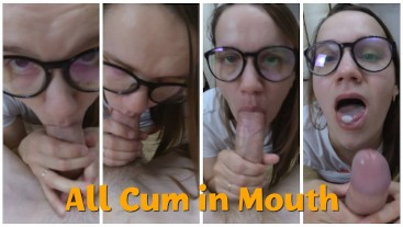 Simply Blowjob All Cum in Mouth