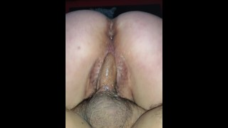 Wife riding new friends cock unprotected no condom while Husband films