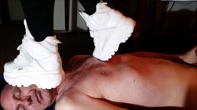 Feet;Exclusive;Verified Amateurs kink, buffalo-boots, sneaker-trample-face, mistress, domination
