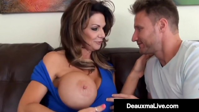 Cock Milking Mommy Deauxma Rides Young Guys Hard Dick! 9