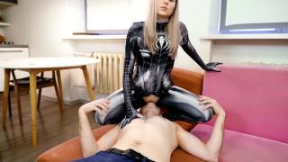 VIP Escort Fucked Hard - Spider Gwen Cosplay By Letty Black