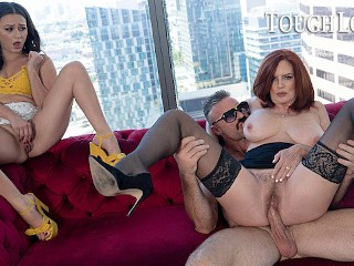 TOUGHLOVEX Karl casting busty redhead MILF Andi James