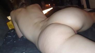 Teasing her perfect ass worship