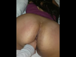 Latina bbw milf has her pussy played with...