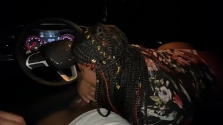 THOT WIFE SUCKING DICK WHILE SHE ON THE PHONE WITH HER HUSBAND