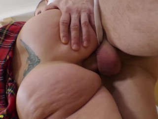 flexi real doll rough anal fucked