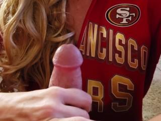 49ers Fan Super Bowl Blowjob