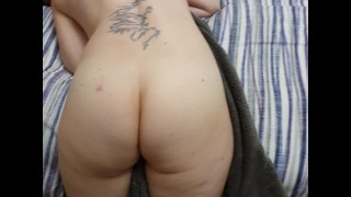 Mom gets spanked hard by step son records her naked