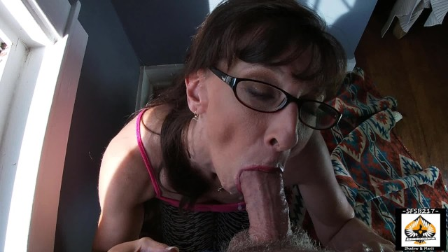Cum on granny Sexy granny show cum mouth swallow compilation