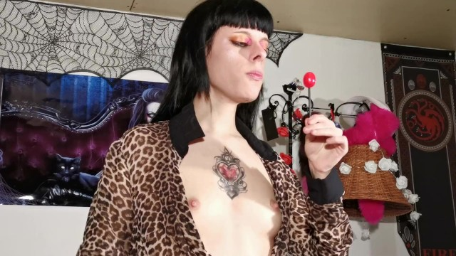 Erotic lollipop licking for my sweet hard daddy HD FULL 2