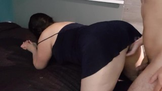 i fucked my latin wife in dress in doggystyle