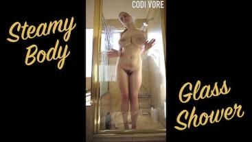 Steamy Body Glass Shower