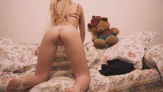 Cheating my GF with my lil Stepsister at grandma's house - morningpleasure