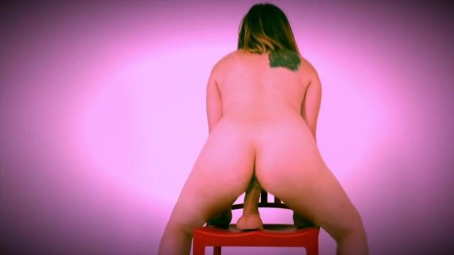 Nickey Huntsman Chair Fuck Solo Toy Video 6