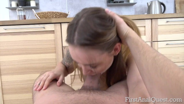 FIRSTANALQUEST - SHELLEY BLISS COMES BACK FOR MORE ANAL GAPE 14