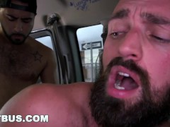 BAIT BUS - Handsome Bear Rich Kelly Fucked Doggy Style By Rikk York