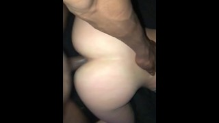 Thick White Girl With BBC